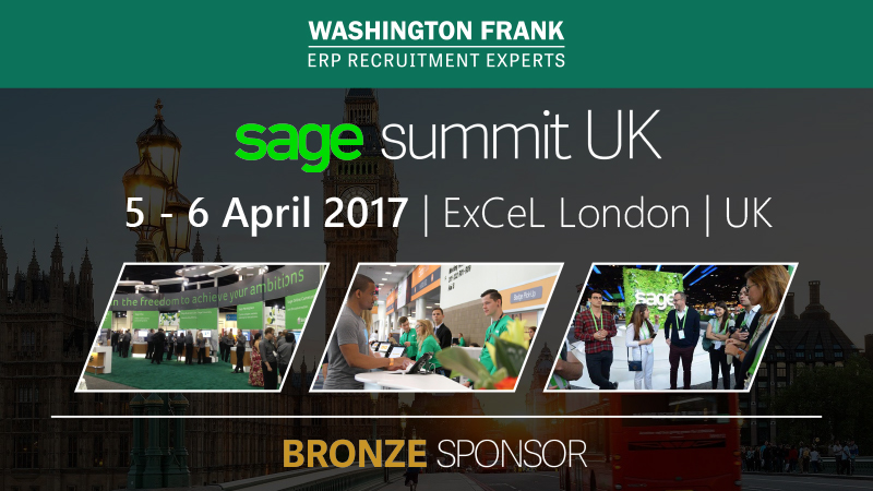 Read our countdown to Sage Summit UK - we are bronze sponsors of the event.