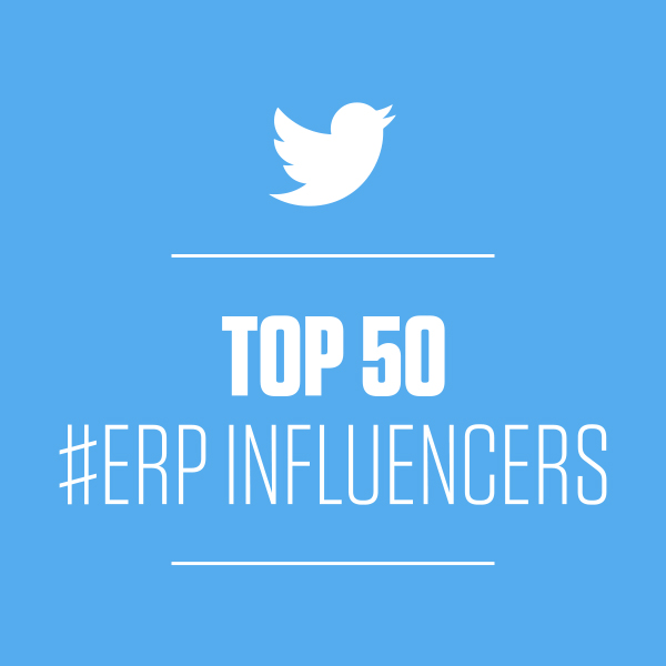 Top 50 ERP Influencers.